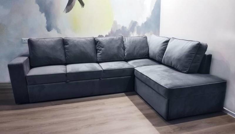 Угловой диван на заказ (модель №3)