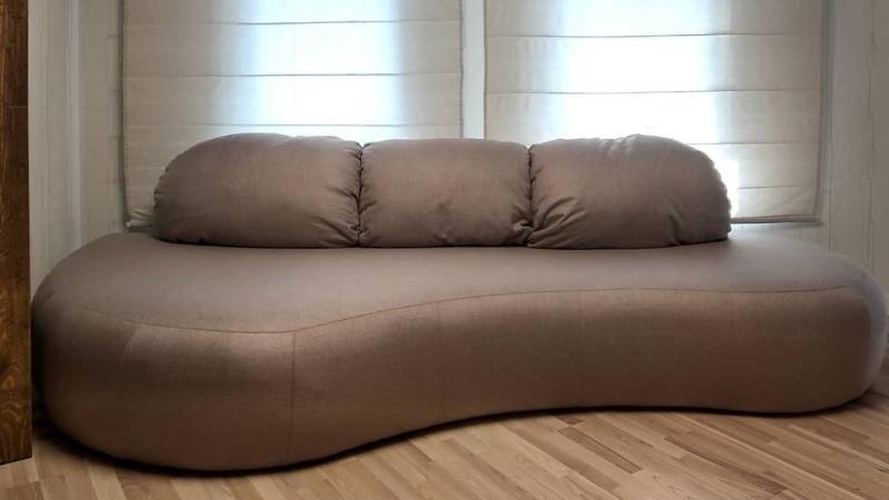 Прямой диван на заказ (модель №8)