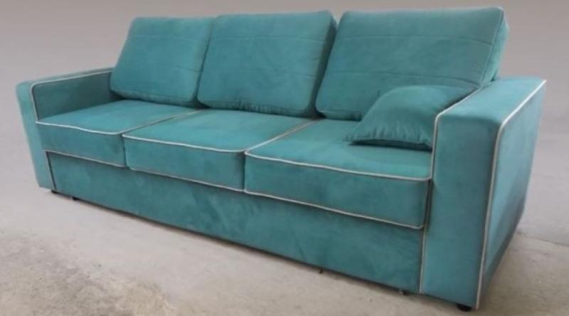"Прямой диван ""Дуэт-Сонар"" на заказ"
