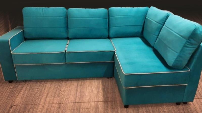 "Угловой диван ""Дуэт-Сонар"" на заказ"