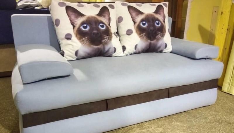 Прямой диван на заказ (модель №5)