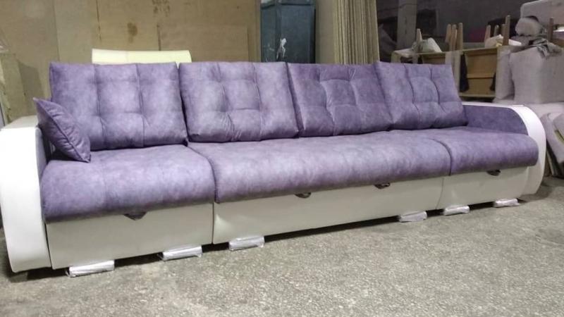 "Прямой диван ""Дуэт-Трансформер"" на заказ"