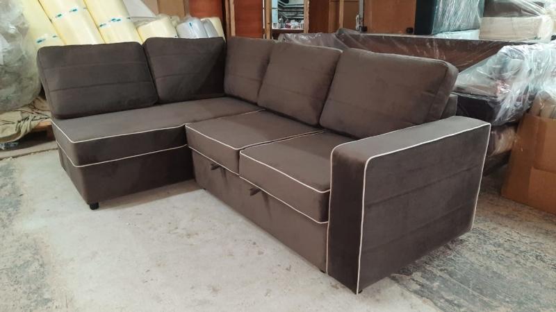 Угловой диван на заказ (модель №1)