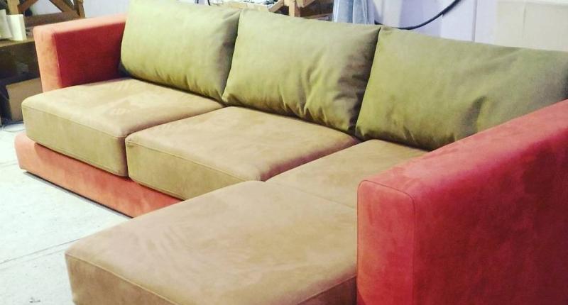 Угловой диван на заказ (модель №9)